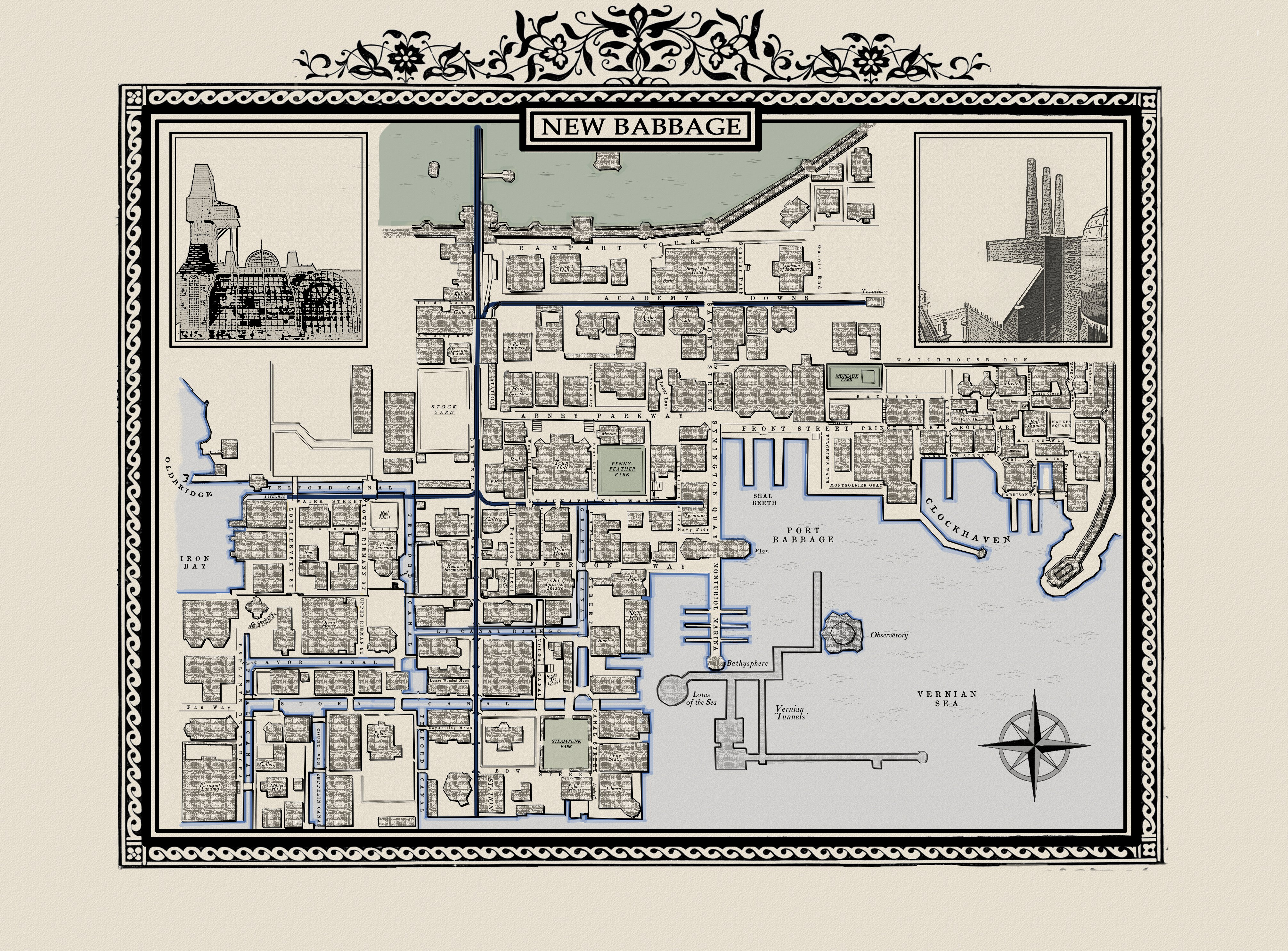 New Babbage Map (as of 7th Jan 2010)